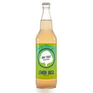 Lemon Basil Hard Cider