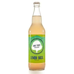 Lemon Basil Hard Cider
