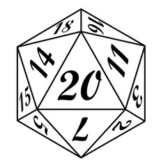 20 sided dice